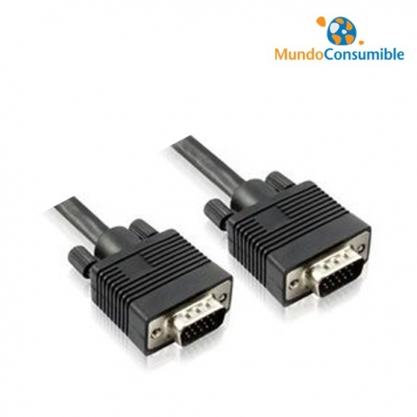 CABLE VGA MACHO/MACHO - 3.00M MOLDEN