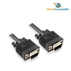 Cable Vga Hdb15M-Hdb15H - 1.80 M. (Conector Molden Estandar)