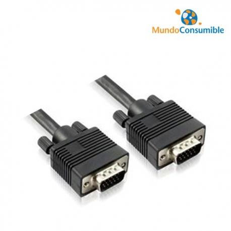 CABLE VGA MACHO/MACHO - 1.80M CONECTOR MOLDEN