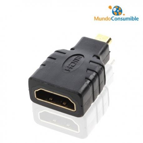 ADAPTADOR DE HDMI A MICRO HDMI