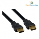 Cable Hdmi 1.4 Goldplated Ethernet Macho-Macho 20.00M