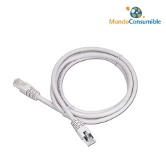 CABLE DE RED UTP CAT. 5E GRIS 0.25 METROS
