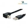 CABLE USB 2.0 TIPO A/M A B/M 90º ACODADO 2m.