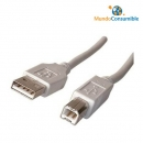 Cable Usb 2.0 - 3.00 Metros A-Macho - B-Macho