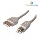 Cable Usb 2.0 - 5.00 Metros A-Macho - B-Macho
