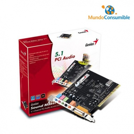 TARJETA SONIDO GENIUS SOUNDMAKER 5.1 PCI