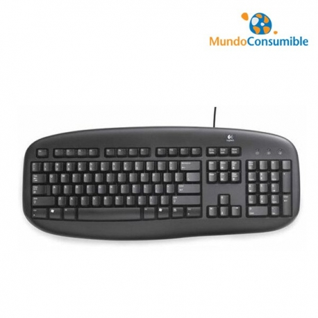 TECLADO LOGITECH VALUE NEGRO OEM PS2