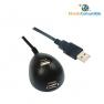 CABLE USB 2.0 MAGNETICO + SOPORTE + PROLONGADOR A/