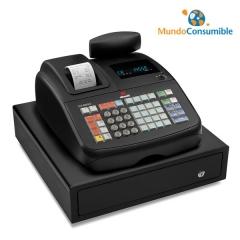 Caja Registradora Olivetti Ecr 6800 Ld Negro Alfanumerica Cajon Grande