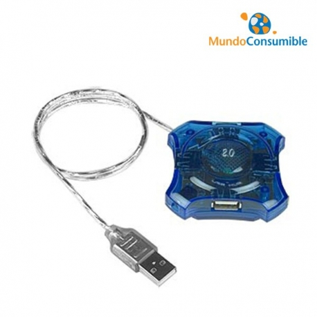 HUB USB 4 SALIDAS 2.0