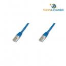 Latiguillo Utp Flexible Cat. 5E. Color Azul. - 1.50 M.