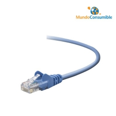 Cable Snagless Rj45Mm Cat.6 Dist.0.5M Azulá- Belkin