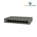 Switch Netgear Gs308-100Pes 10-100-1000 8 Puertos Caja Metalica