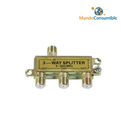 SPLITTER TV SATELITE 1 ENTRADA / 3 SALIDAS