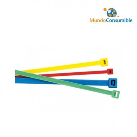 CONJUNTO DE BRIDAS VARIOS COLORES 100mm