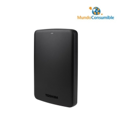DISCO DURO TOSHIBA CANVIO BASICS 2.5 1TB NEGRO USB 3.0