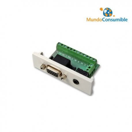 VISION VGA / AUDIO TECHCONNECT V2 VGA+3.5mm (VGA PINEADO)