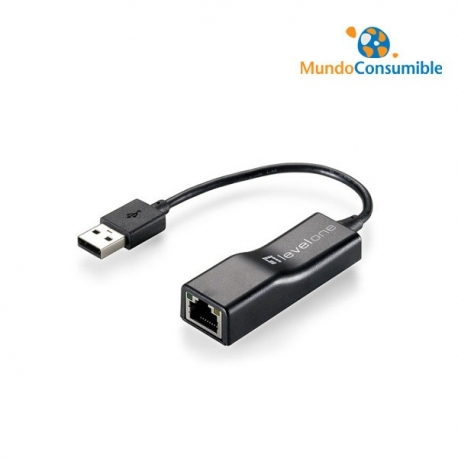 ADAPTADOR USB - ETHERNET 10/100 RJ45 LEVELONE