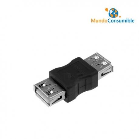 ADAPTADOR USB TIPO A HEMBRA - TIPO A HEMBRA