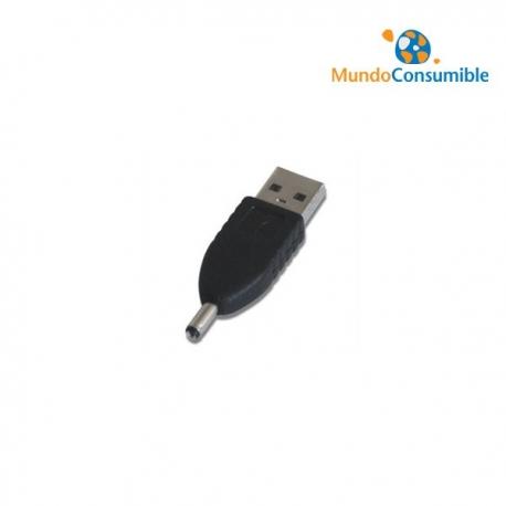 ADAPTADOR DE CÁMARA DIGITAL USB A/M A MACHO DC.