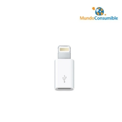 ADAPTADOR MICRO USB / APPLE LIGHTNING 8PIN 3GO