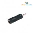 Adaptador De Audio Jack 2,5 Estéreo M-Jack 3,5 Estéreo H (3)