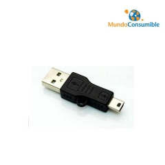 ADAPTADOR USB 2.0 A/M - MINI B/M 8 PINES