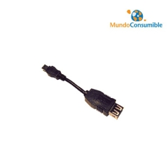 ADAPTADOR CABLE USB MINI USB A/H - MINI USB B/M 5 PINES