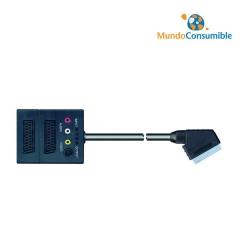 Cable Divisor De Video 3 Euroconector + 3 Rca