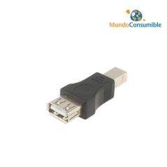 Adaptador Para Cables Usb Salida De Tipo A-H A B-M