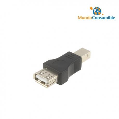 ADAPTADOR PARA CABLES USB SALIDA DE TIPO A/H A B/M