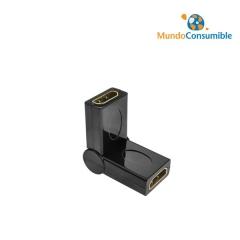 Conector Tv Para Cable 180º