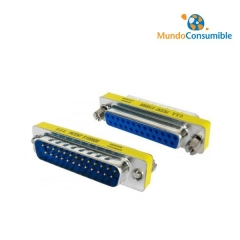 Mini Adaptador Compacto - Db25M-Db25H