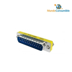 Mini Adaptador Compacto - Db25M-Db25M
