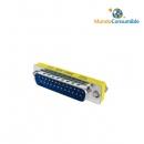 Mini Adaptador Compacto - Db25M-Db25M