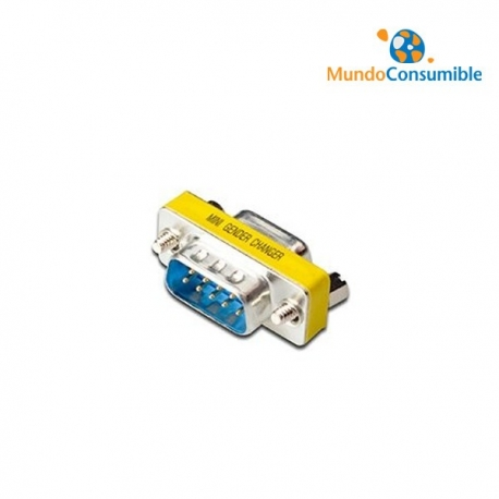 MINI ADAPTADOR COMPACTO - DB9H/DB9H