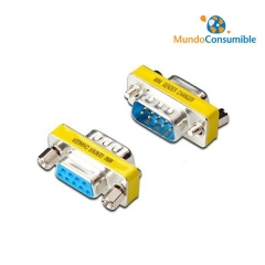 Mini Adaptador Compacto - Db9M-Db9H