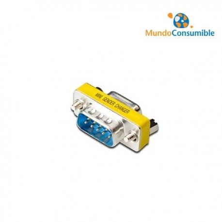 MINI ADAPTADOR COMPACTO - DB9M/DB9M