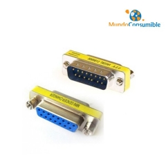 Mini Adaptador Compacto - Db15M-Db15H