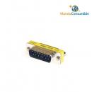 Mini Adaptador Compacto - Db15M-Db15M