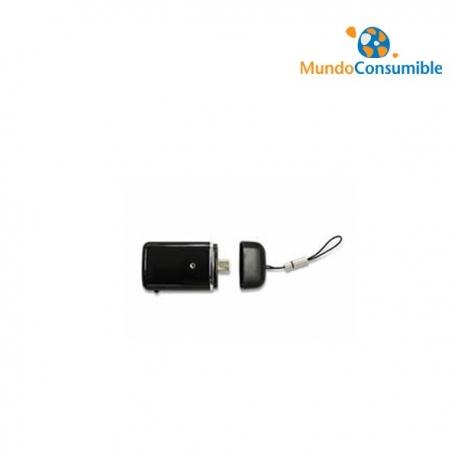 BATERIA AUXILIAR RECARGABLE + LINTERNA MICRO USB 90min AUTONOMIA