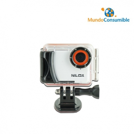 CAMARA NILOX ACTION CAM MINI SUMERGIBLE BLANCA