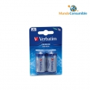 Pila Alcalina Lr14 Pack2 Verbatim
