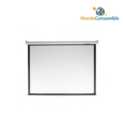 PANTALLA MANUAL PARA PROYECTOR (1.5M X 1.5M) SCREENLINE