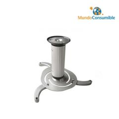 Soporte Para Proyector Estandar Plata (Techo) Metalico