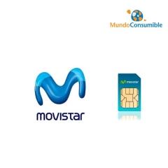 Tarjeta Movistar 3.5G Umts - Gprs - Regalo 200Mb Navegacion + 100 Sms Gratis (Sim Incluida)