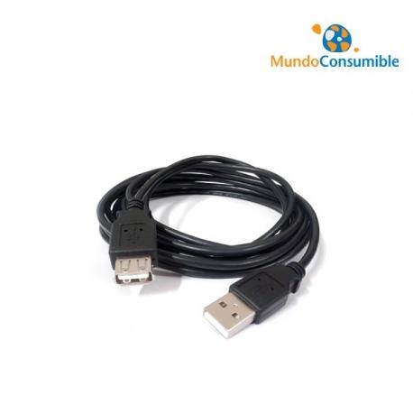 CABLE PROLONGADOR USB 3 MT. A MACHO A HEMBRA