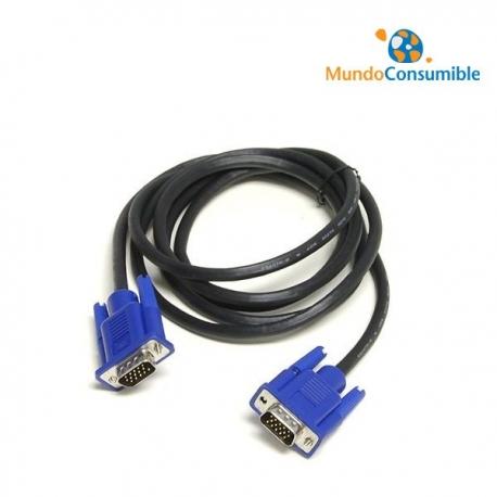 CABLE VGA MACHO / MACHO 1.80 METROS