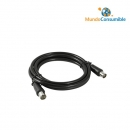 Cable Tv-Negro 2.00 M