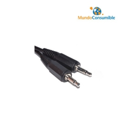 Cable Audio Jack 3,5Mm Mono Macho - Jack 3,5Mm Mono Macho 1.5M.